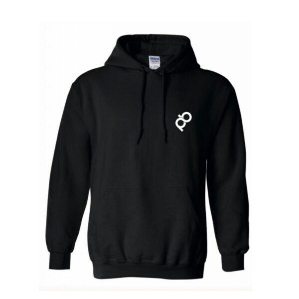 hoodie avec logo pb